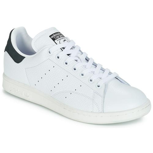 sale retailer c1045 068b9 Zapatos Zapatillas bajas adidas Originals STAN SMITH Blanco   Negro