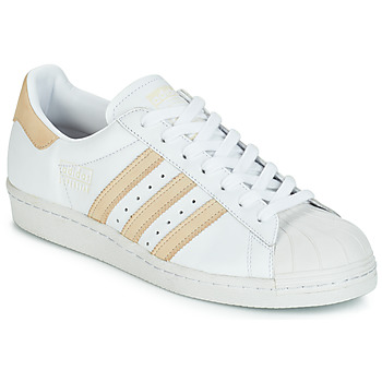 Zapatos Zapatillas bajas adidas Originals SUPERSTAR 80s Blanco / Beige