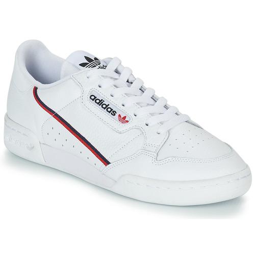 brand new 432e1 b70a8 Zapatos Zapatillas bajas adidas Originals CONTINENTAL 80 Blanco