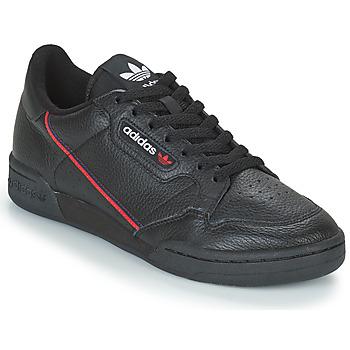 Zapatos Hombre Zapatillas bajas adidas Originals CONTINENTAL 80 Negro