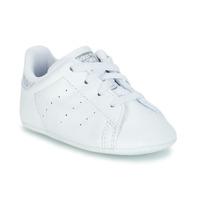 Zapatos Niña Zapatillas bajas adidas Originals STAN SMITH CRIB Blanco