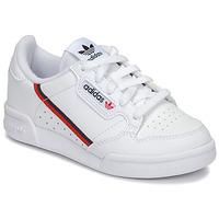Zapatos Niños Zapatillas bajas adidas Originals CONTINENTAL 80 C Blanco