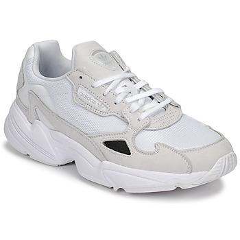 Zapatos Mujer Zapatillas bajas adidas Originals FALCON W Blanco