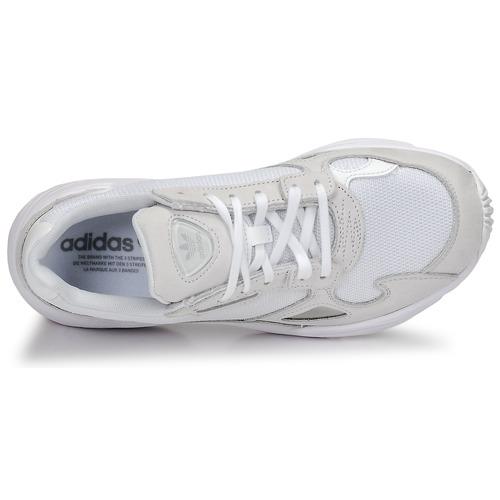 Zapatillas Zapatos Originals Falcon Adidas Mujer Bajas W Blanco uTlF1JcK3