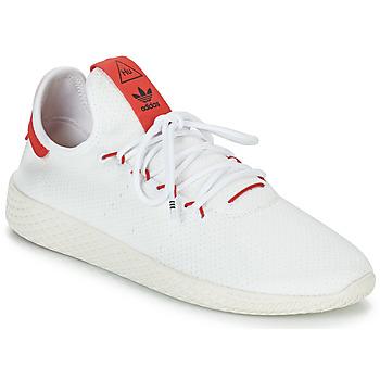 Zapatos Zapatillas bajas adidas Originals PW TENNIS HU Blanco / Rojo