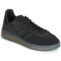Zapatos Hombre Zapatillas bajas adidas Originals SAMBA RM Negro