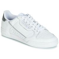 Zapatos Mujer Zapatillas bajas adidas Originals CONTINENTAL 80s Blanco / Plata