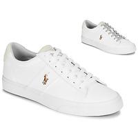 Zapatos Hombre Zapatillas bajas Polo Ralph Lauren SAYER Blanco