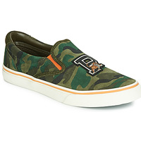 Zapatos Hombre Slip on Polo Ralph Lauren THOMPSON Kaki / Camuflaje