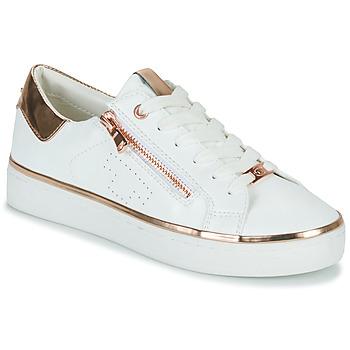 Zapatos Mujer Zapatillas bajas Tom Tailor 6992603-WHITE Blanco