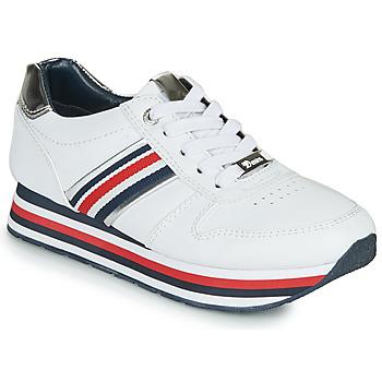 Zapatos Mujer Zapatillas bajas Tom Tailor 6995501-WHITE Blanco