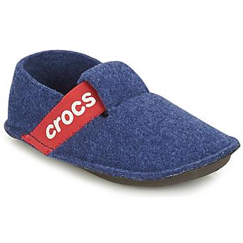 Zapatos Niños Pantuflas Crocs CLASSIC SLIPPER K Azul