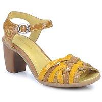 Zapatos Mujer Sandalias Pataugas FANNY Amarillo