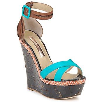 Zapatos Mujer Sandalias Rupert Sanderson NISSA Azul