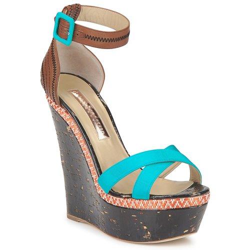 Descuento de la Sanderson marca Zapatos especiales Rupert Sanderson la NISSA Azul 477beb