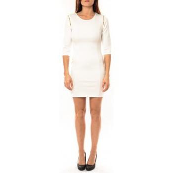 textil Mujer Vestidos cortos Vera & Lucy Robe Lucce LC-0228 Blanc Blanco