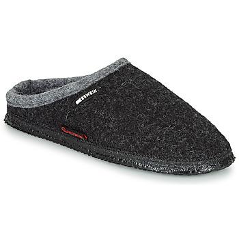 Zapatos Hombre Pantuflas Giesswein DANNHEIM Antracita