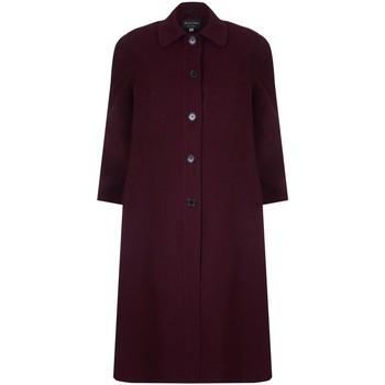 textil Mujer Abrigos David Barry Abrigo largo de invierno con mezcla de lana y cachemir Red