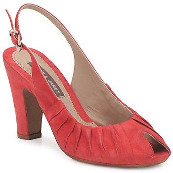 Zapatos Mujer Sandalias Janet&Janet PEONIA PLISA Rojo