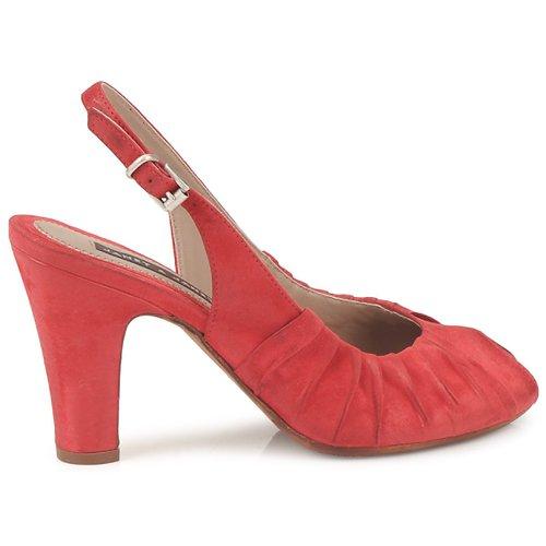 Gran descuento Zapatos especiales Janet&Janet PEONIA PLISA Rojo