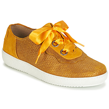 Zapatos Mujer Zapatillas bajas Casta HUMANA Amarillo / Oro
