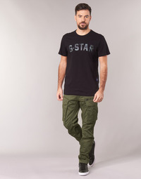 textil Hombre Pantalón cargo G-Star Raw ROVIC ZIP 3D STRAIGHT TAPERED Kaki
