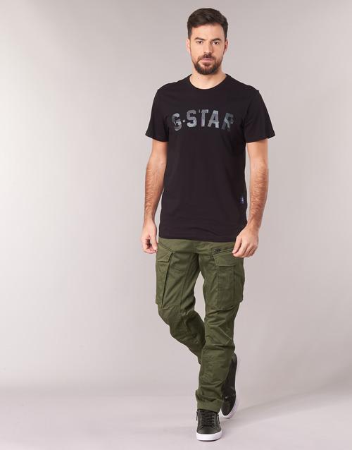 textil Hombre Pantalón cargo G-Star Raw ROVIC ZIP 3D STRAIGHT TAPERED Kaki
