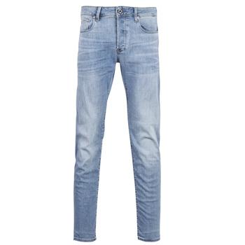 textil Hombre vaqueros slim G-Star Raw 3302 SLIM Azul / Indigo / Envejecido