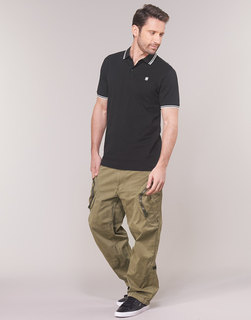 Raw G Pantalón Beige Textil Airforce Relaxed Cargo Rovic Hombre 3d star n08wkPO