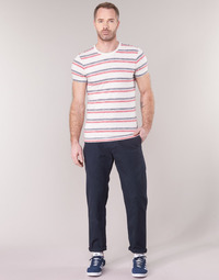 textil Hombre Pantalones chinos G-Star Raw BRONSON STRAIGHT TAPERED CHINO Marino