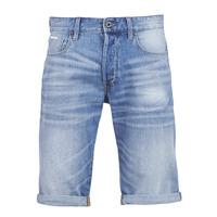 textil Hombre Shorts / Bermudas G-Star Raw 3302 12 Azul / Light / Envejecido