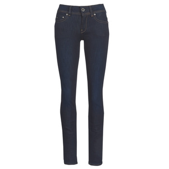 textil Mujer Vaqueros rectos G-Star Raw MIDGE SADDLE MID STRAIGHT Azul / Dark / Envejecido