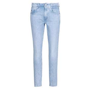 textil Mujer Vaqueros rectos G-Star Raw RADAR MID BOYFRIEND TAPERED Azul / Light / Envejecido