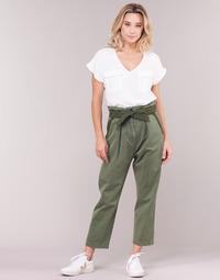 textil Mujer pantalones chinos G-Star Raw BRONSON ARMY PAPERBAG Kaki