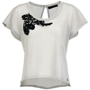 textil Mujer Camisetas sin mangas Café Noir CAF-RRR-JM322-196 Beige