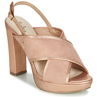 Zapatos Mujer Sandalias Menbur VILLALBA Rosa / Gold