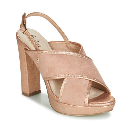 Sandalias Zapatos Mujer RosaGold Menbur Villalba fY7b6gyvI