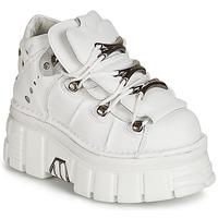 Zapatos Mujer Botas de caña baja New Rock ROCKY Blanco