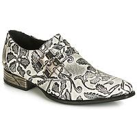 Zapatos Hombre Richelieu New Rock SALSO Negro / Blanco