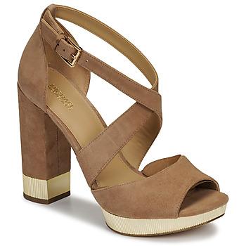 Zapatos Mujer Sandalias MICHAEL Michael Kors VALERIE PLATFORM Camel
