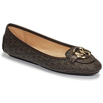 Zapatos Mujer Bailarinas-manoletinas MICHAEL Michael Kors LILLIE MOC Marrón