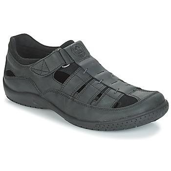 Zapatos Hombre Sandalias Panama Jack MERIDIAN Negro