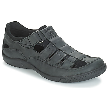 913e2a02a63 Zapatos Hombre Sandalias Panama Jack MERIDIAN Negro