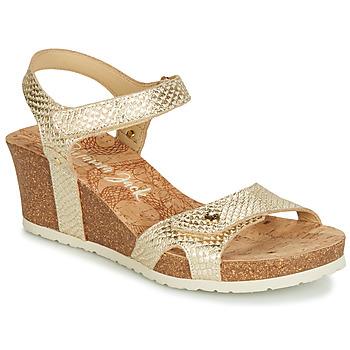 Zapatos Mujer Sandalias Panama Jack JULIA Dorado