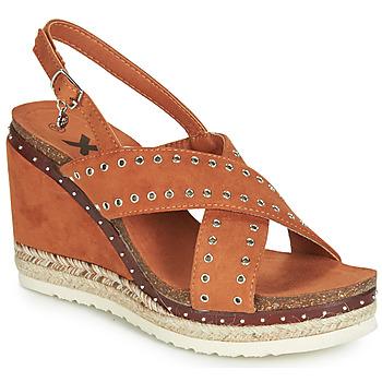 Zapatos Mujer Sandalias Xti 48922 Cognac