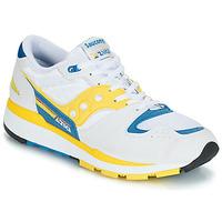 Zapatos Hombre Zapatillas bajas Saucony Azura Blanco / Amarillo / Azul