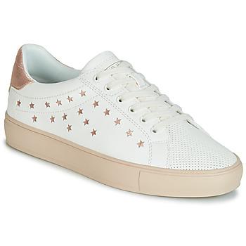 Zapatos Mujer Zapatillas bajas Esprit Colette Star LU Blanco / Rosa / Gold
