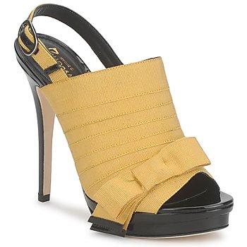 Zapatos Mujer Sandalias Jerome C. Rousseau ROXY Amarillo / Negro