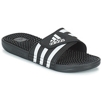 Zapatos Chanclas adidas Originals ADISSAGE Negro / Blanco