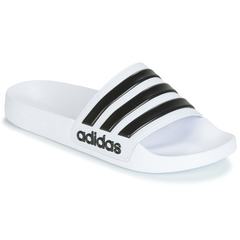 Zapatos Chanclas adidas Performance ADILETTE SHOWER Blanco / Negro